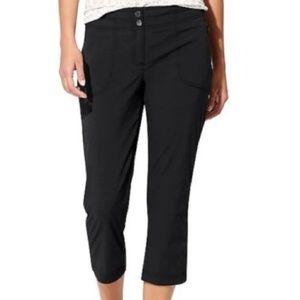 Athleta Trekkie Crop Pants Black